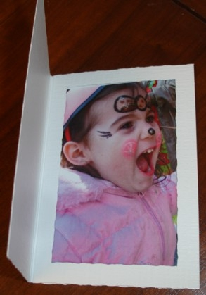 Photo Insert Cards