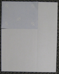 term perforated paper edge