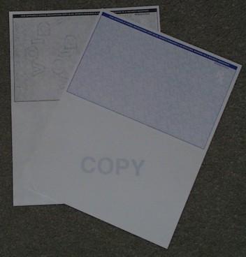 Tamper Resistant Laser Prescription Paper